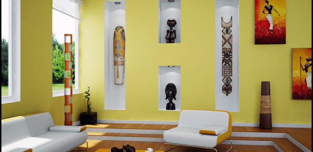 Living-Room-With-African-Art-615x300