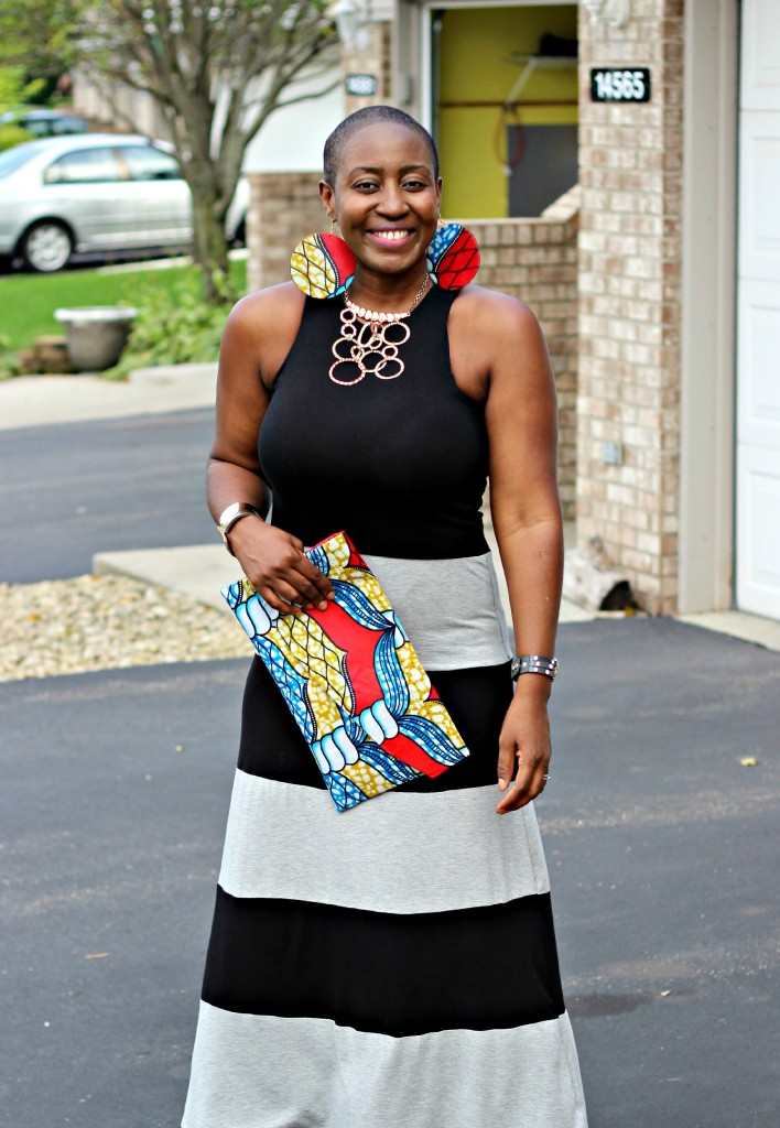 Casual Monday: Maxi Dress + an exotic twist!
