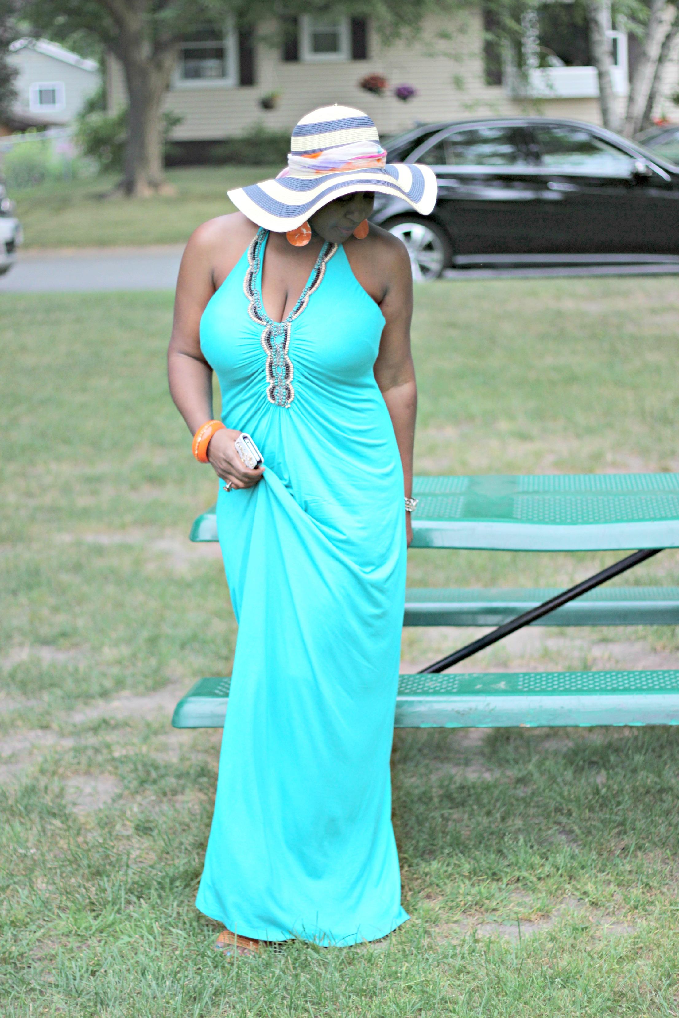 green maxi dress 13