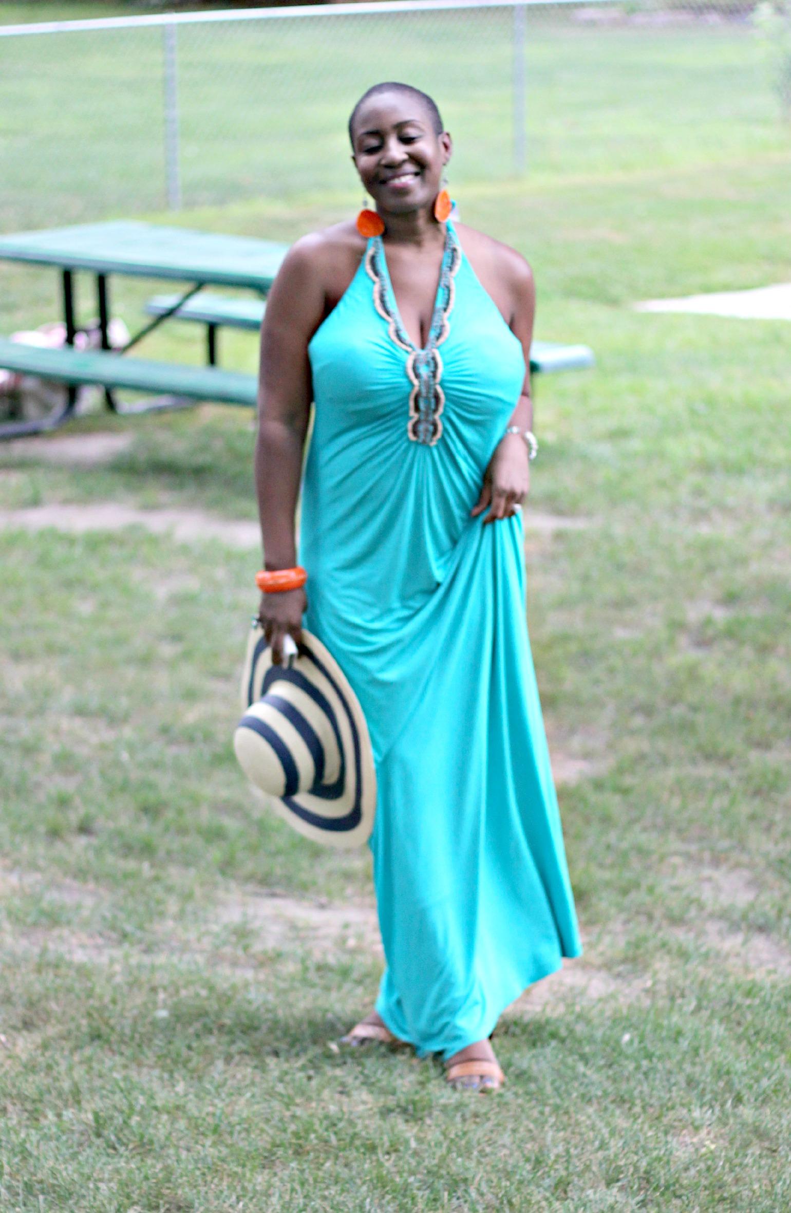 green maxi dress 26