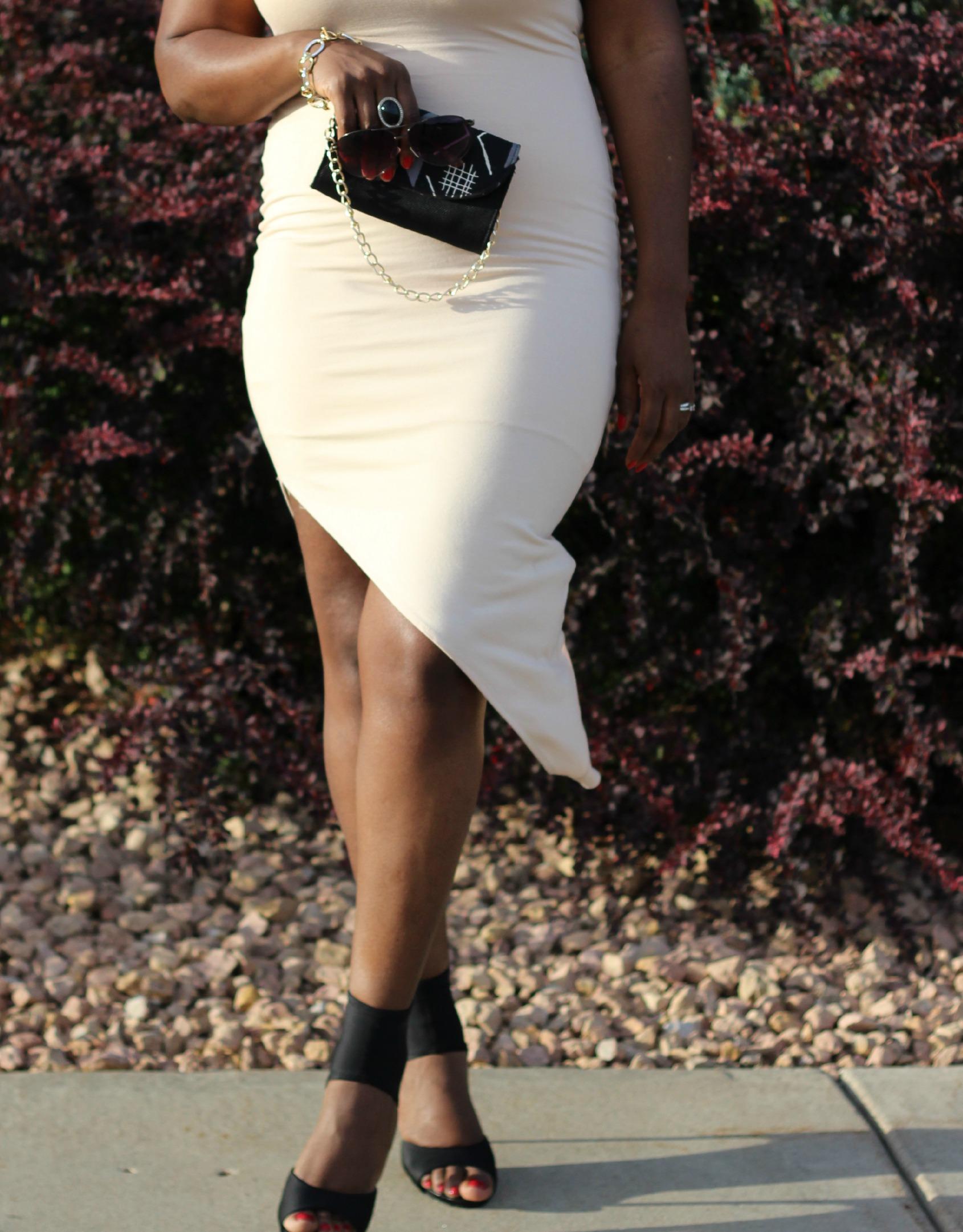 sexy asymmetric dress 12