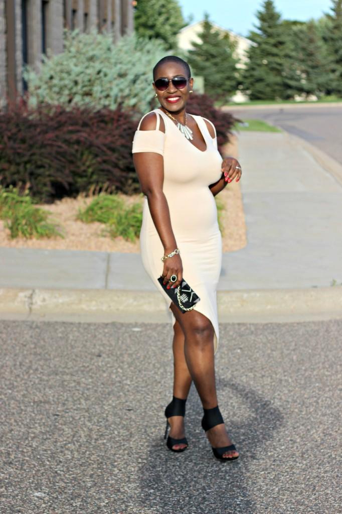 The little asymmetric dress