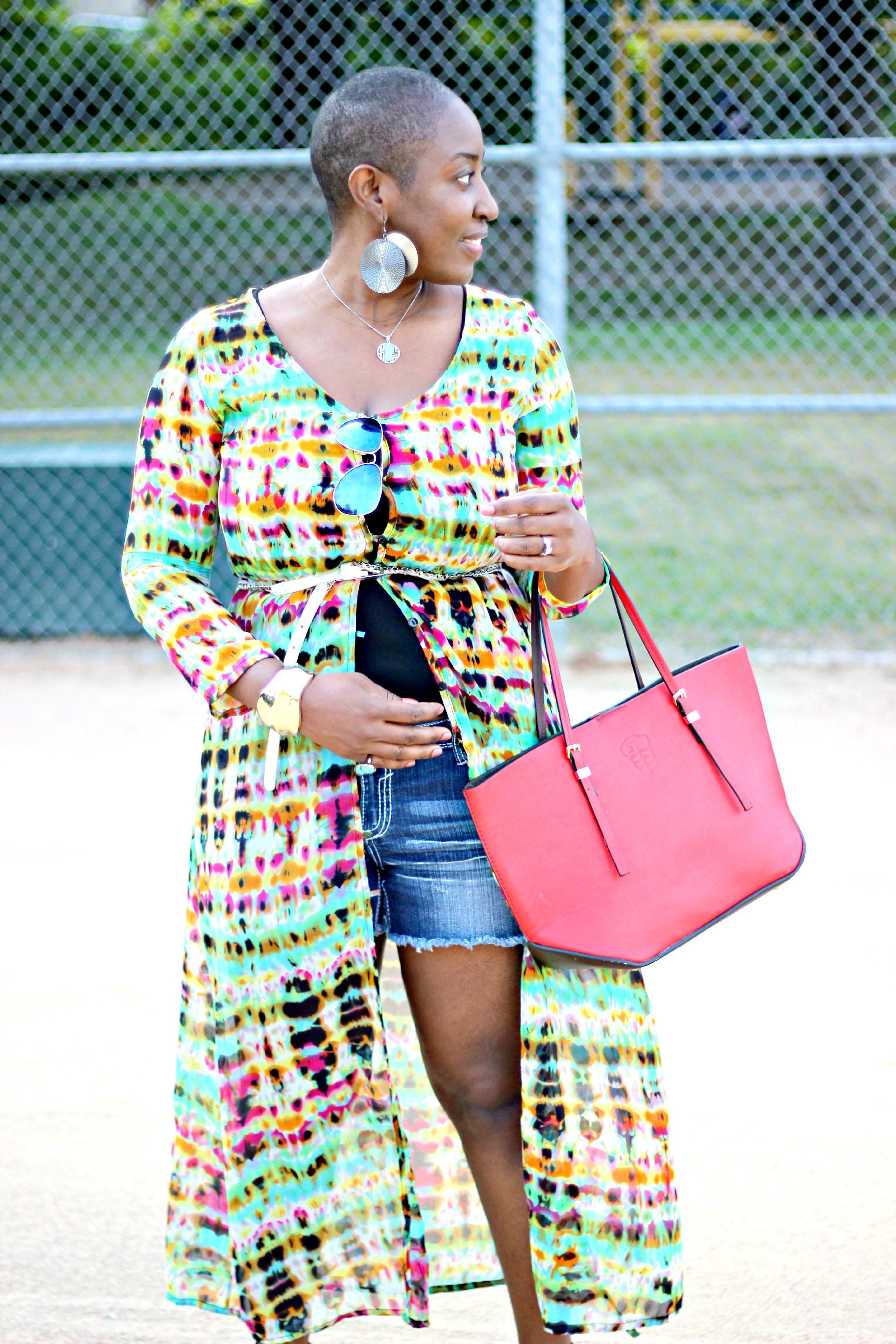 Maxi dress -shirt