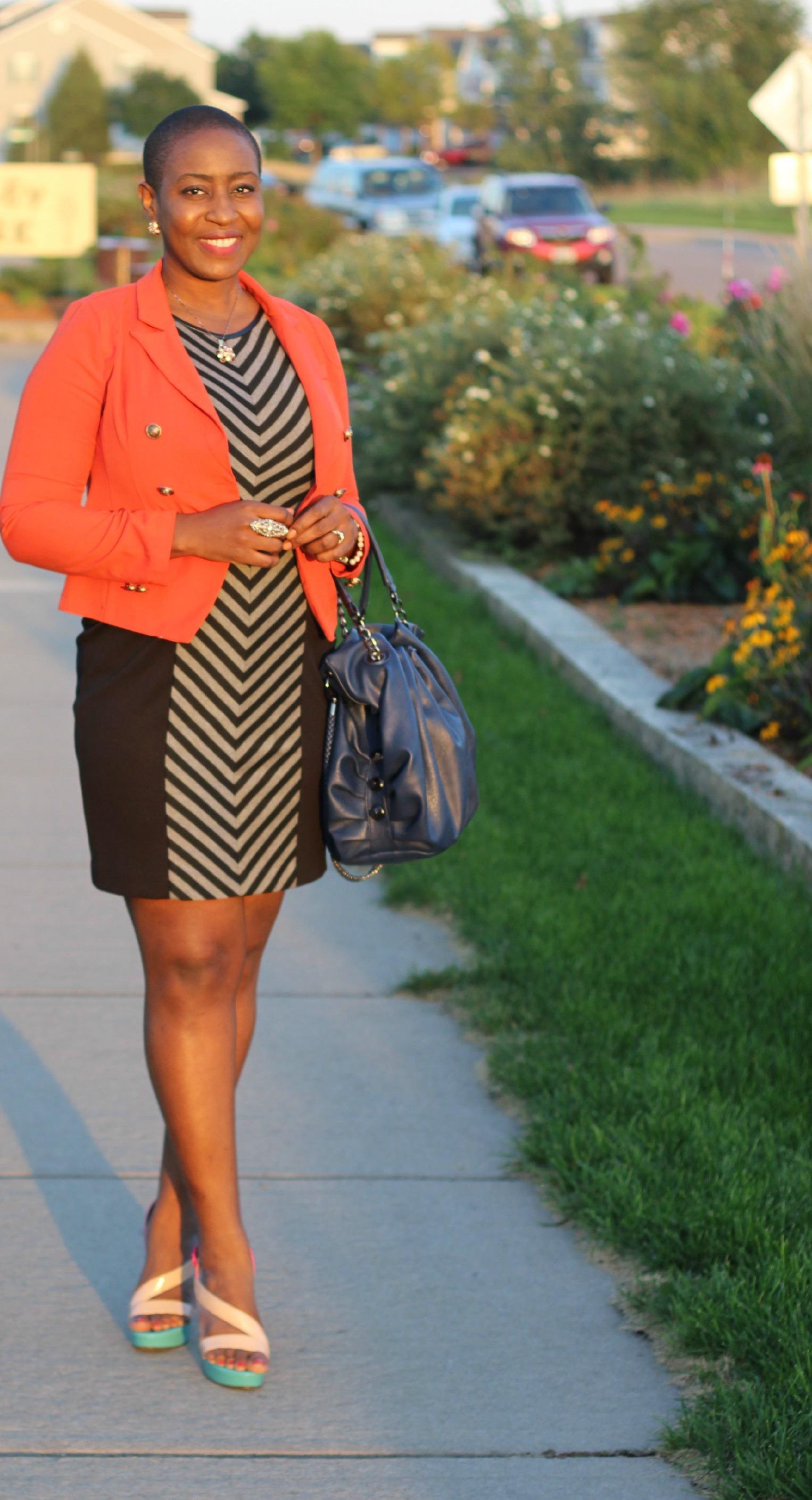 Orange jacket 1