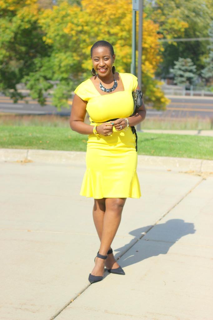 Yellow dress 12