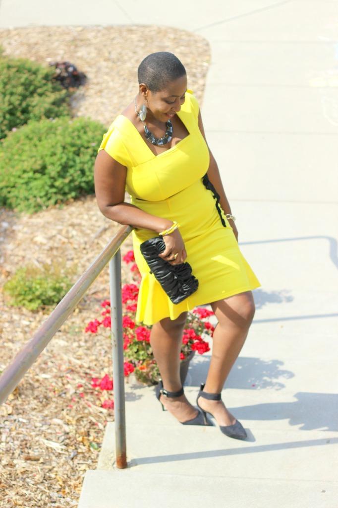 Yellow dress22
