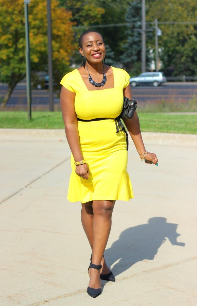 Yellow dress4 1
