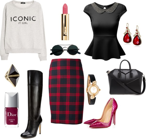 Mad for plaid! the skirt