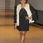 Minimalist Chic –  The LBD + Faux Fur