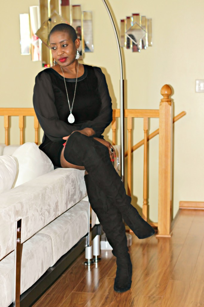 Black dress & Boots
