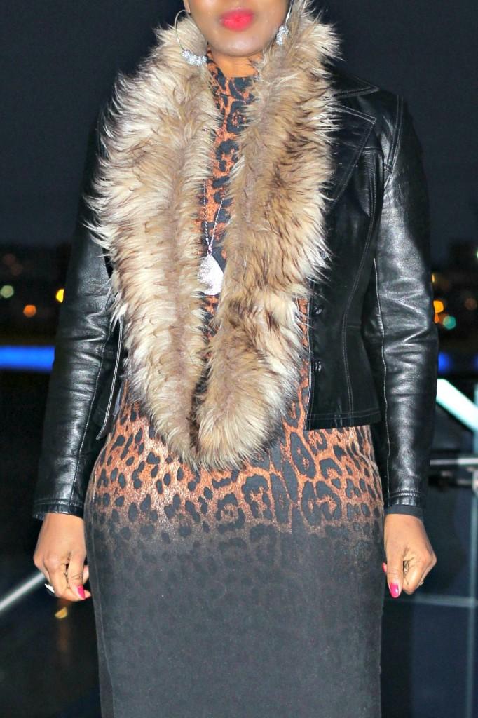 Leopard Bodycon Dress !!5!!