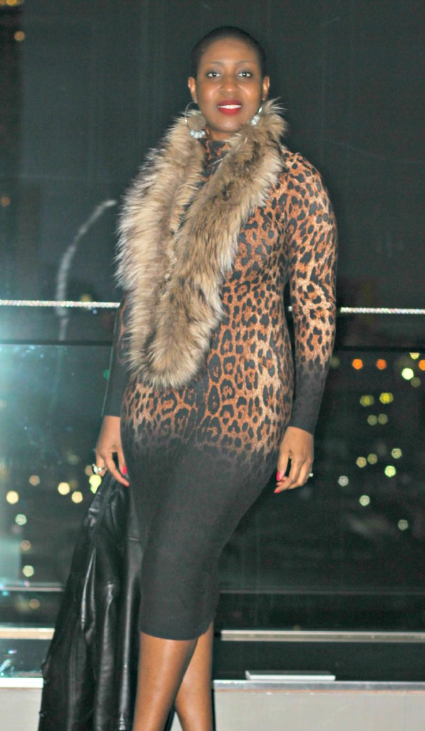 Leopard Bodycon Dress !!!7