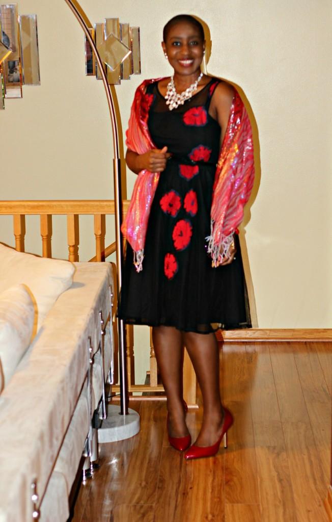 Red rose dress1