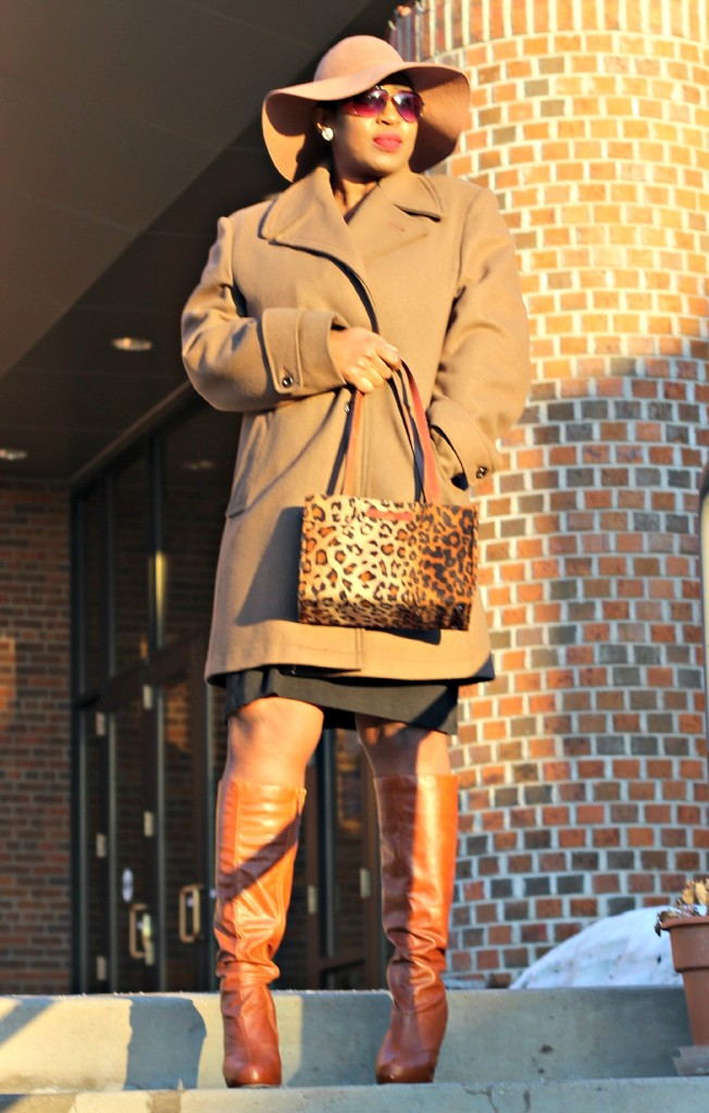 Wrap dress and oversized coat1.9jpg