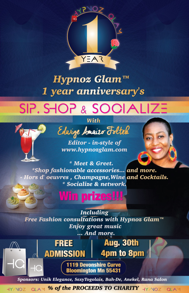 Hypnoz Glam |Sip Shop and Socialize 2015