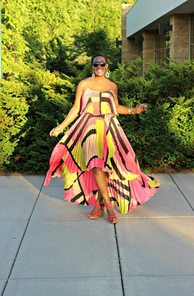 Colorful High Low dress. 17jpg