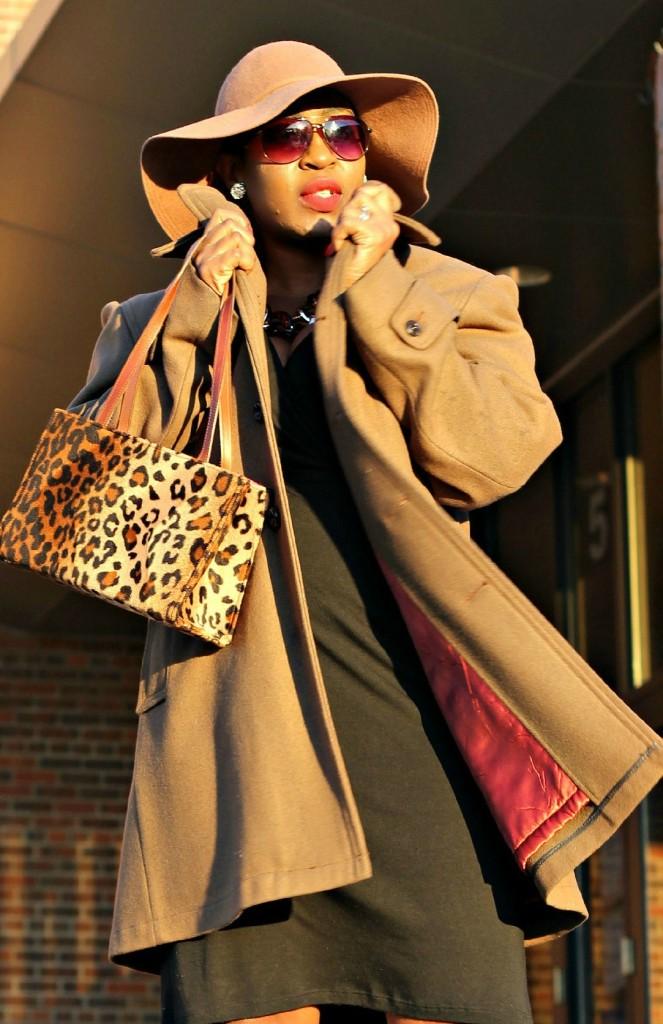 Wrap dress and oversized coat17!!
