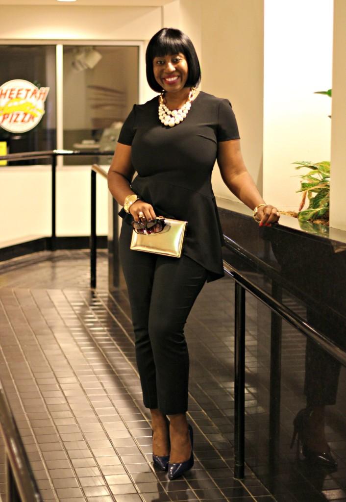 All Black Jackie O Style 2