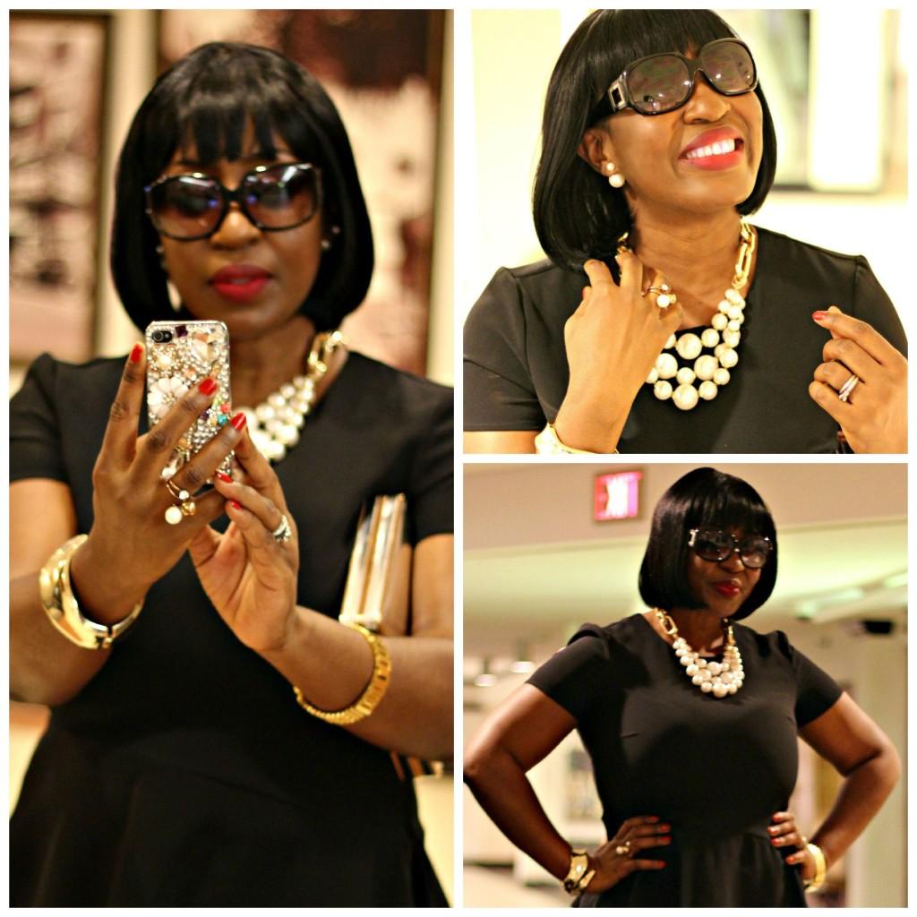 All Black Jackie O Style 30!!!!!