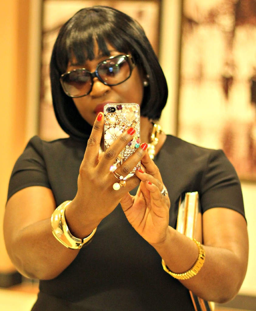 All Black Jackie O Style 632