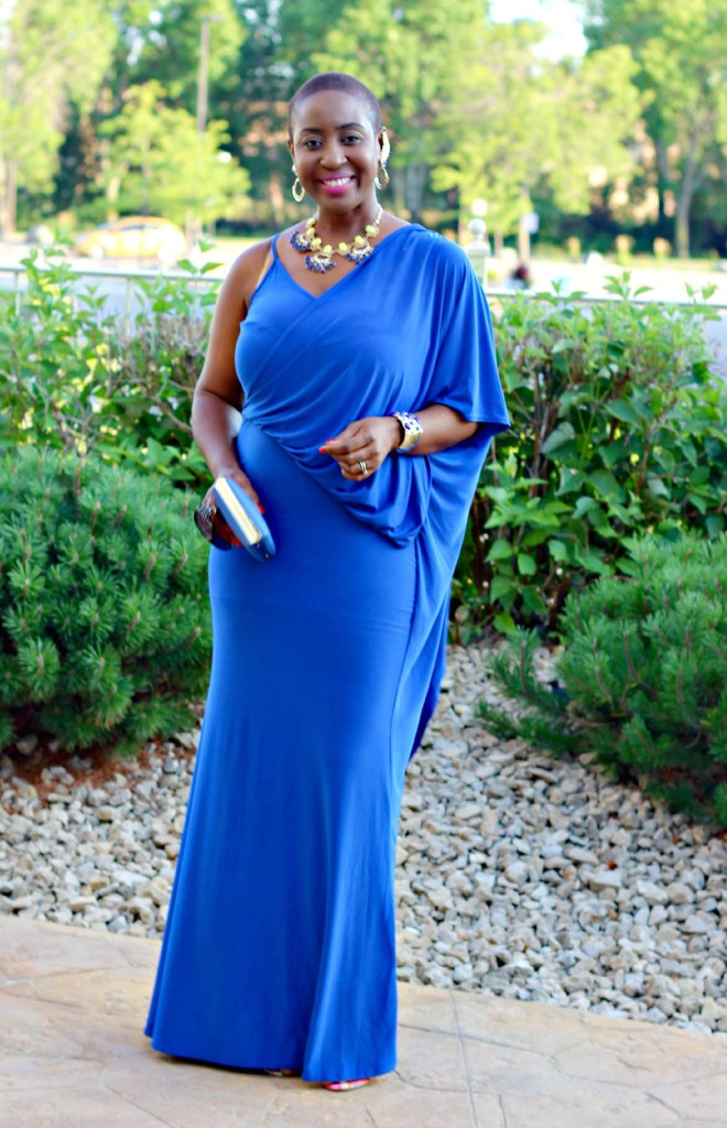 Lady In Royal Blue 11