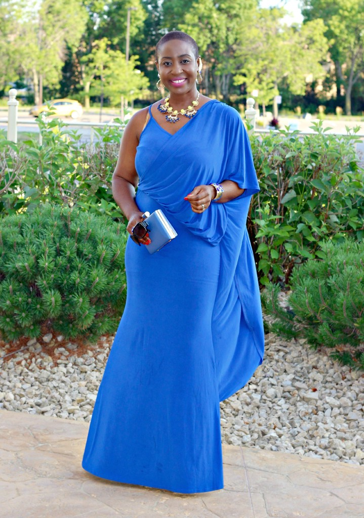 Lady In Royal Blue 12