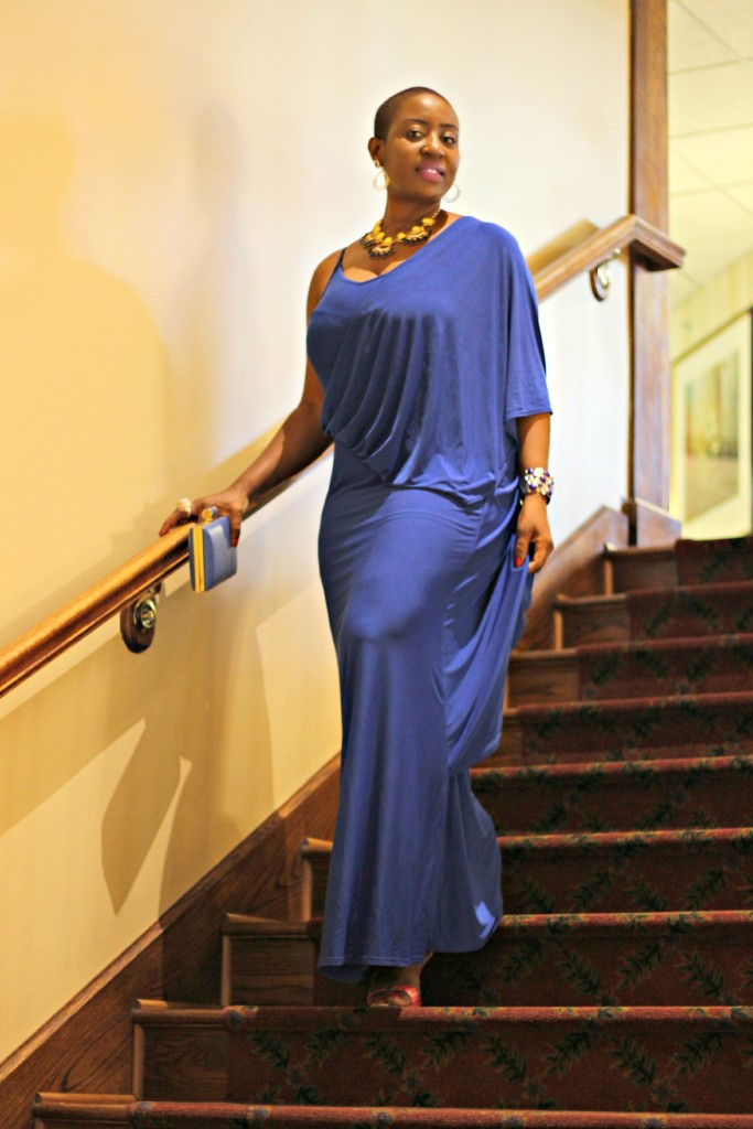 Lady In Royal Blue 26
