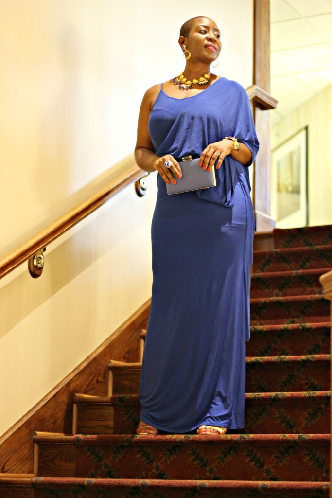 Lady In Royal Blue 27