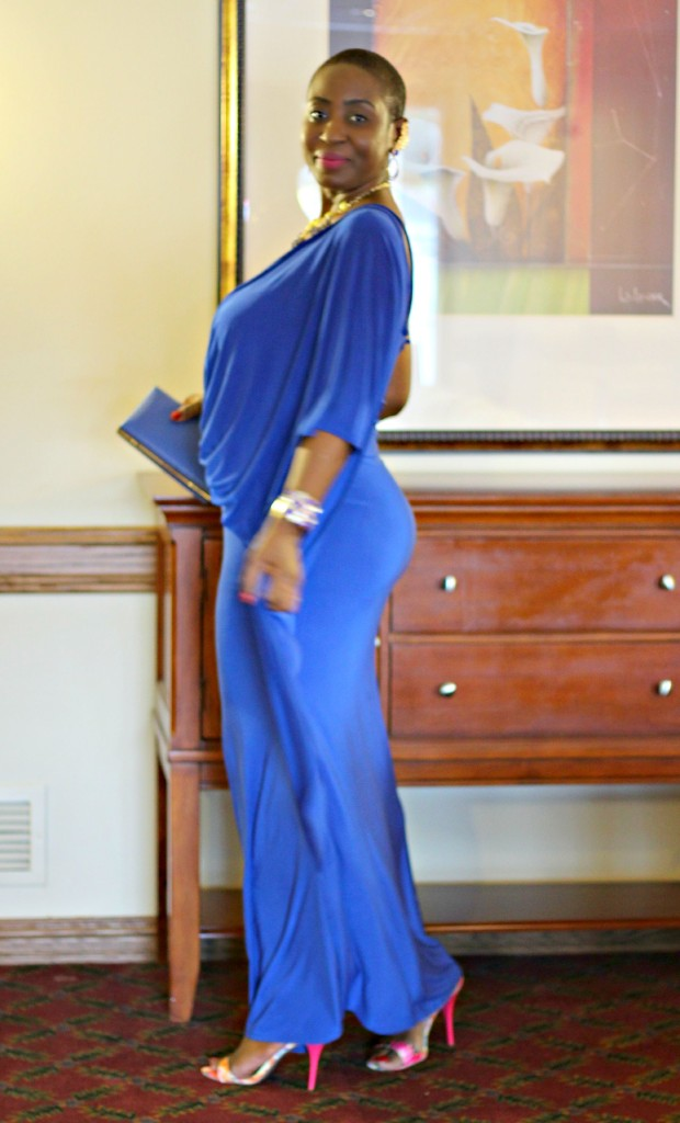 Lady In Royal Blue 3