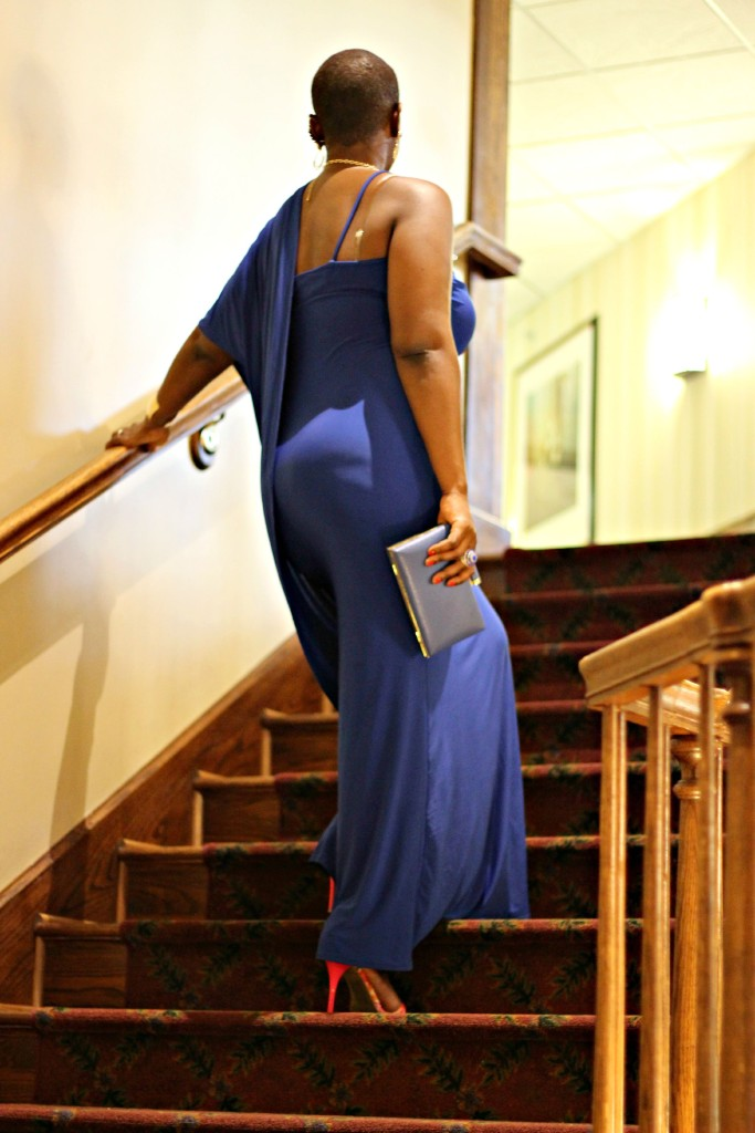 Lady In Royal Blue 31