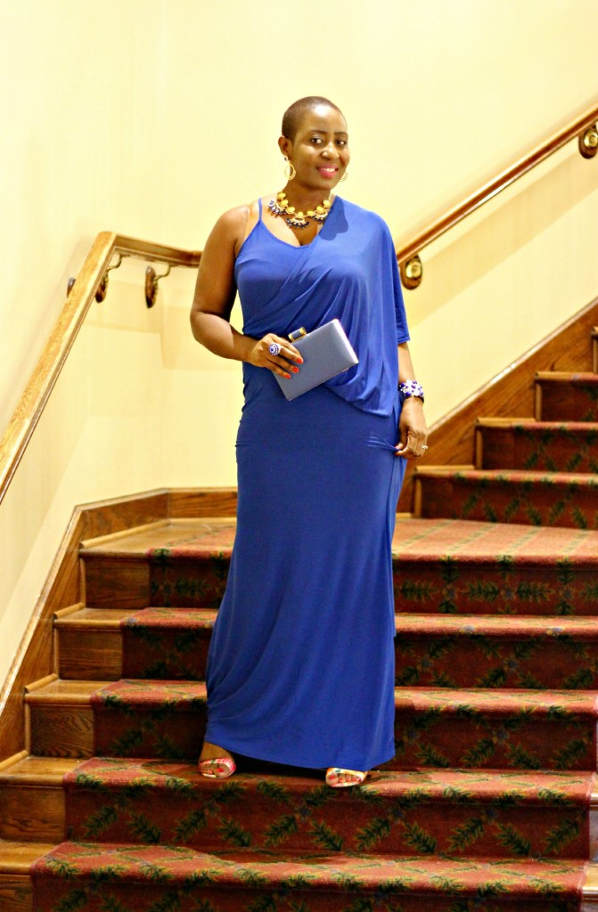 Lady In Royal Blue 34