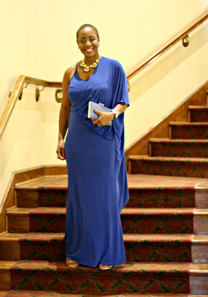Lady In Royal Blue 36