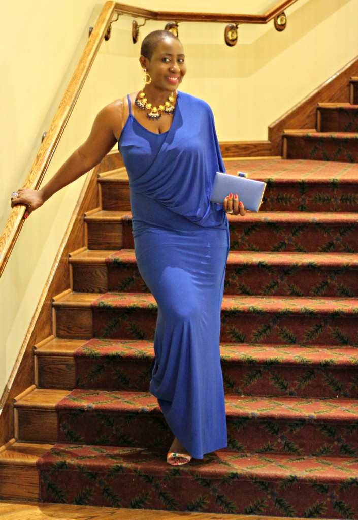 Lady In Royal Blue 40