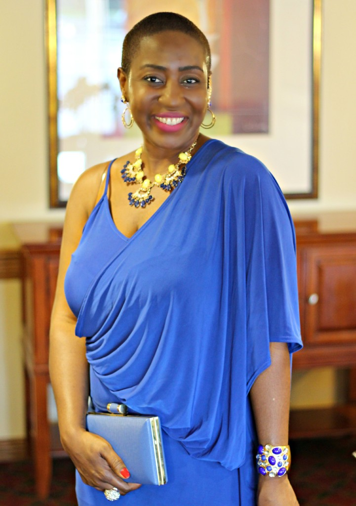 Lady In Royal Blue 46
