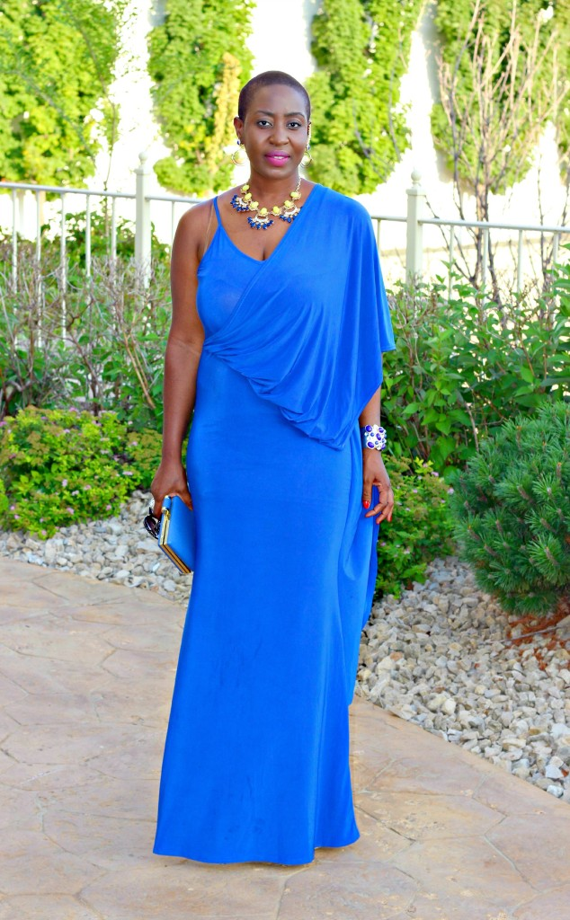Lady In Royal Blue 49