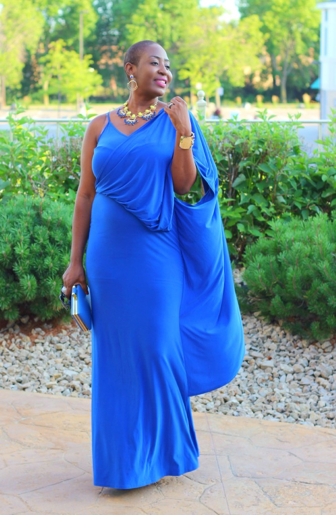 Lady In Royal Blue 52