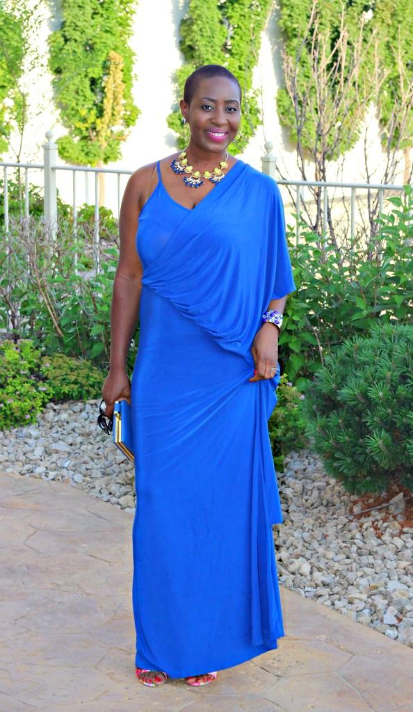 Lady In Royal Blue 60jpg