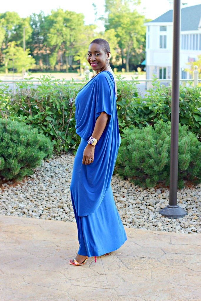 Lady In Royal Blue12