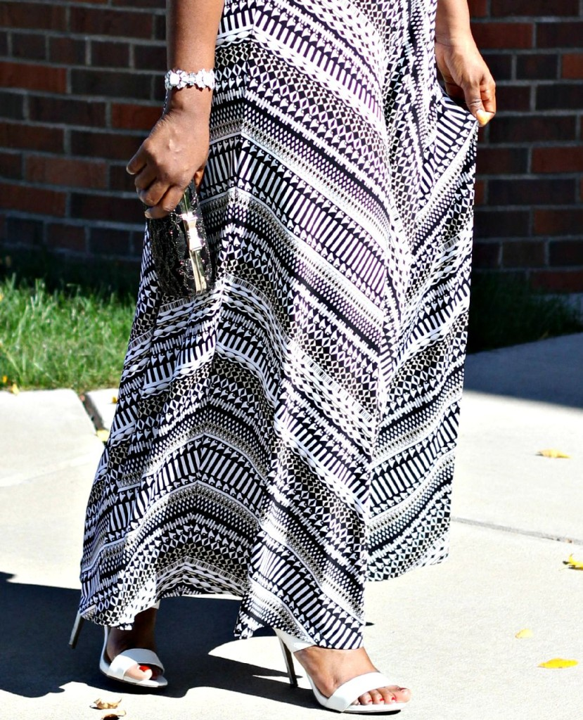 Printed Maxi Dress for Fall 12