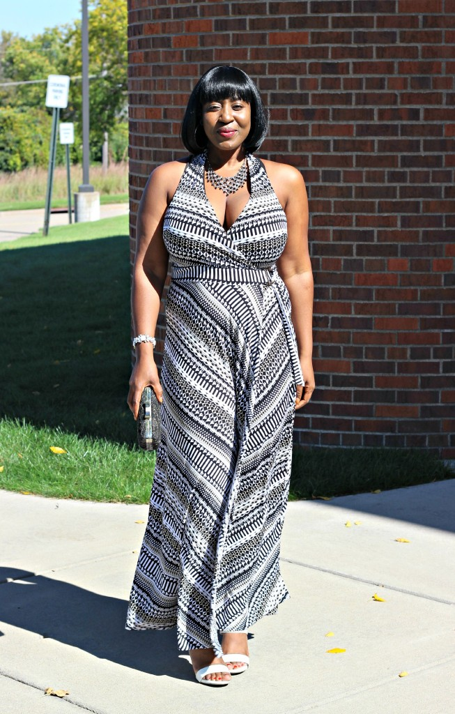 Printed Maxi Dress for Fall 2