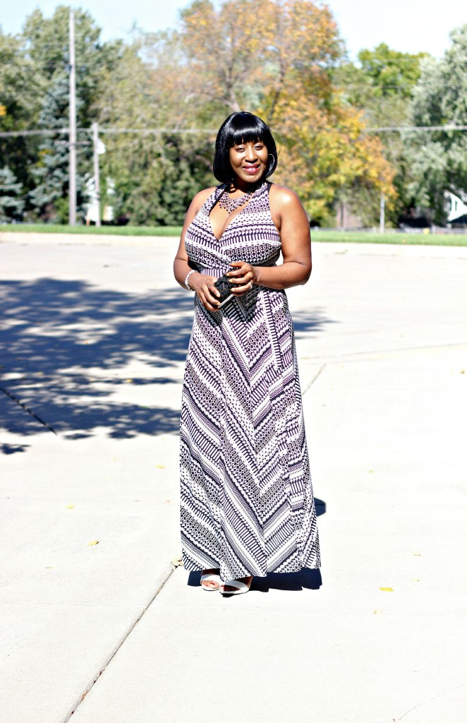 Printed Maxi Dress for Fall 5