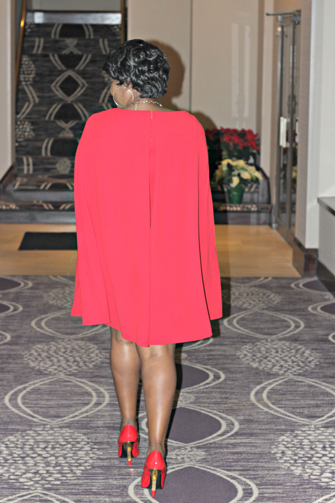 Lady in red and cape! 11