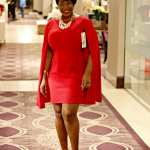Lady In Red …and Cape