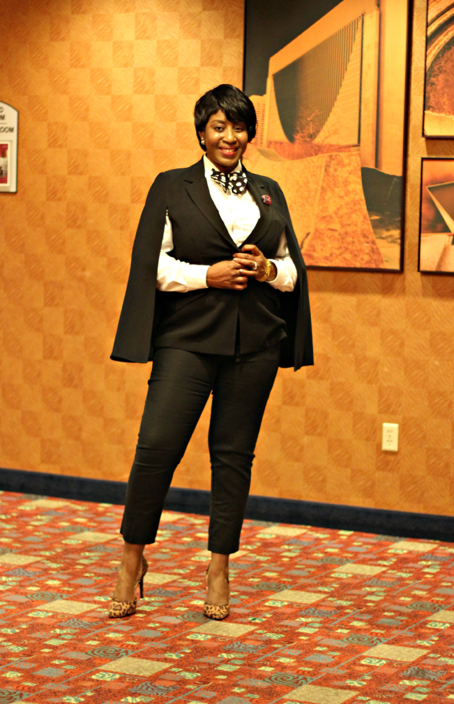 cape blazer and bow tie 11