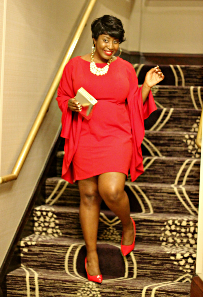 ladyin red