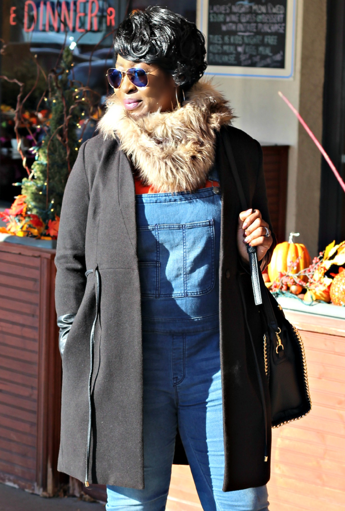 overall and denim