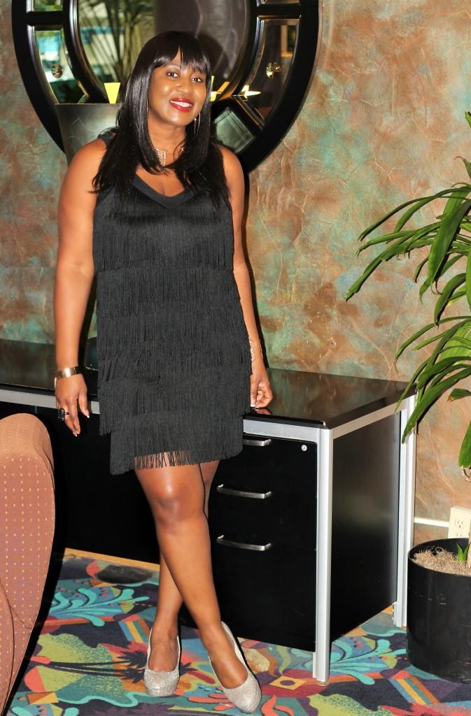 Little black fringe dress1!!!! - Copy