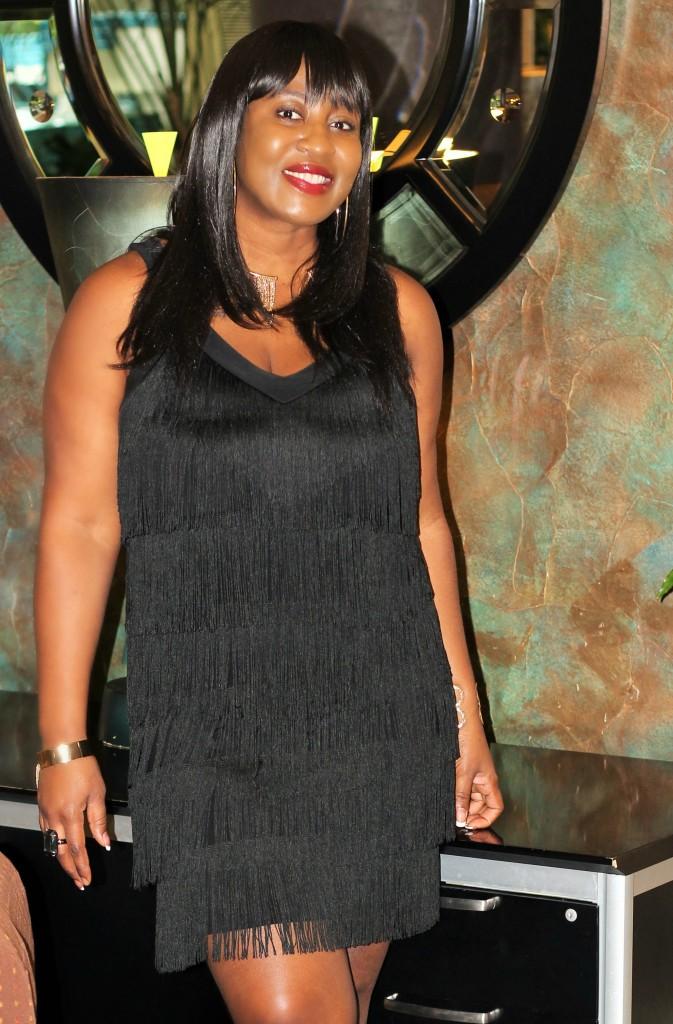 Little black fringe dress11!!