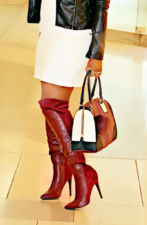 leather moto jacket and oxblood (1)