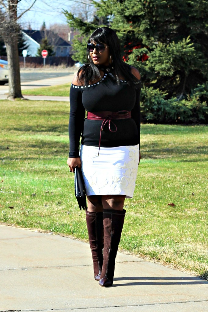 Cold-shoulder-and-boots and off-white-skirt23